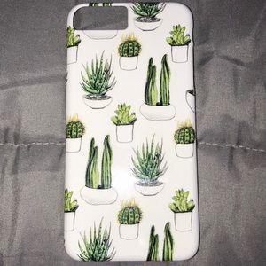 Society 6 Cactus Case - iPhone 7+